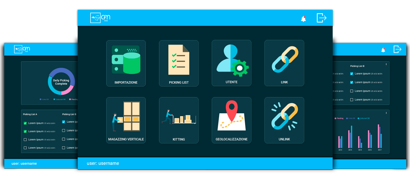 Piattaforma web based OM-Link