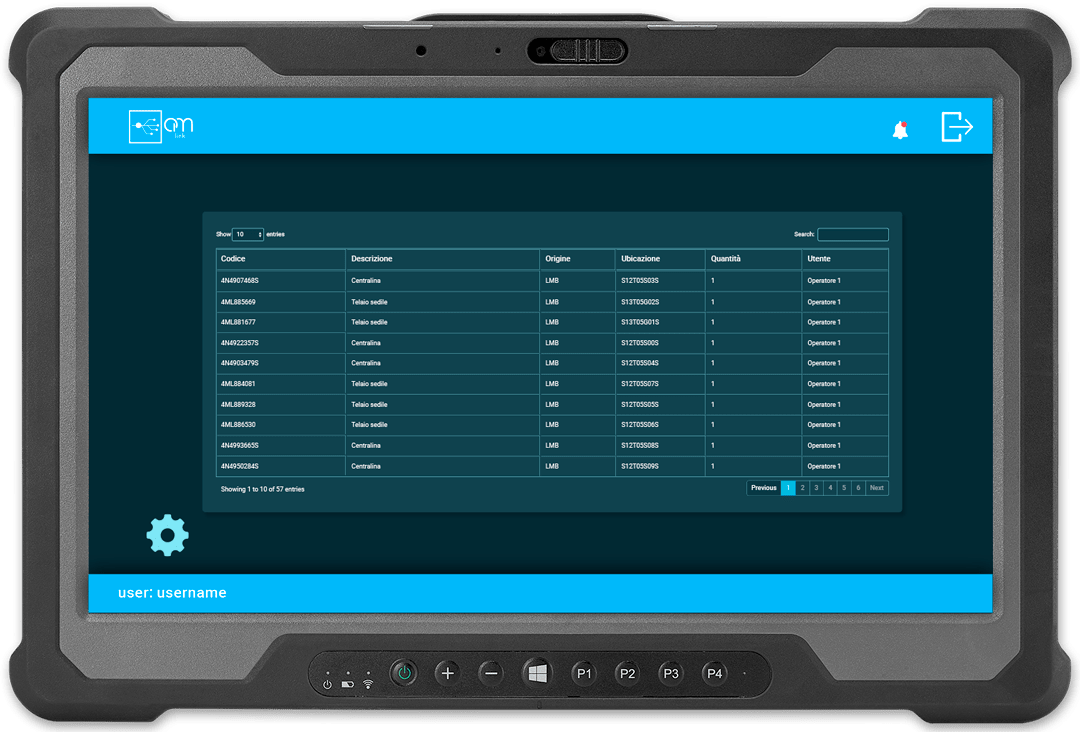 schermata om-link soluzioni ad hoc