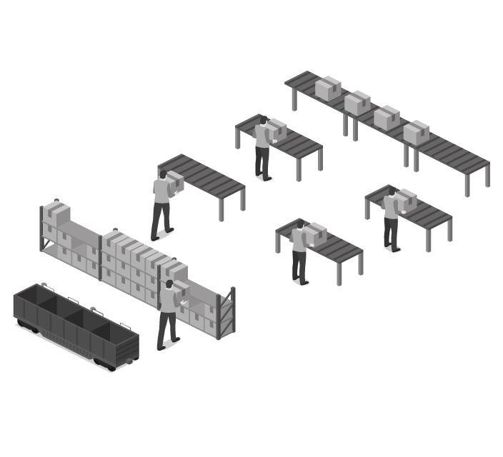 Modulo Kanban elettronico OM-Link