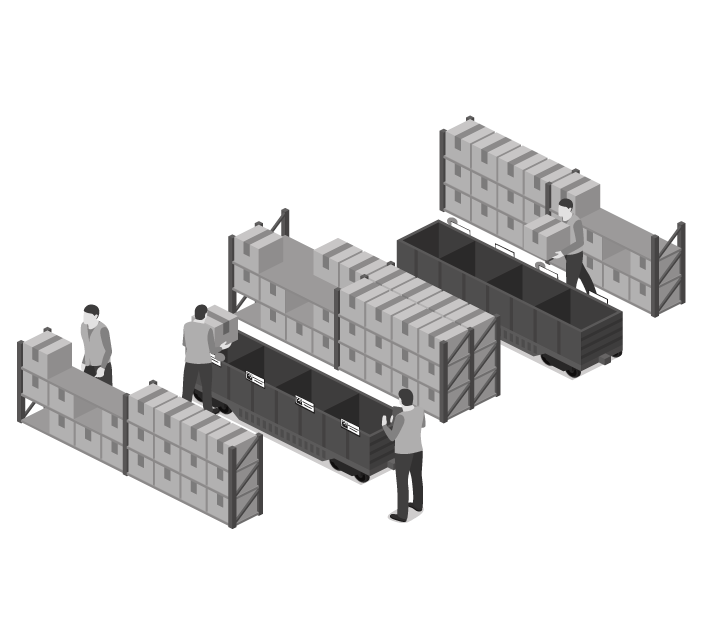 Modulo Kitting dinamico OM-Link