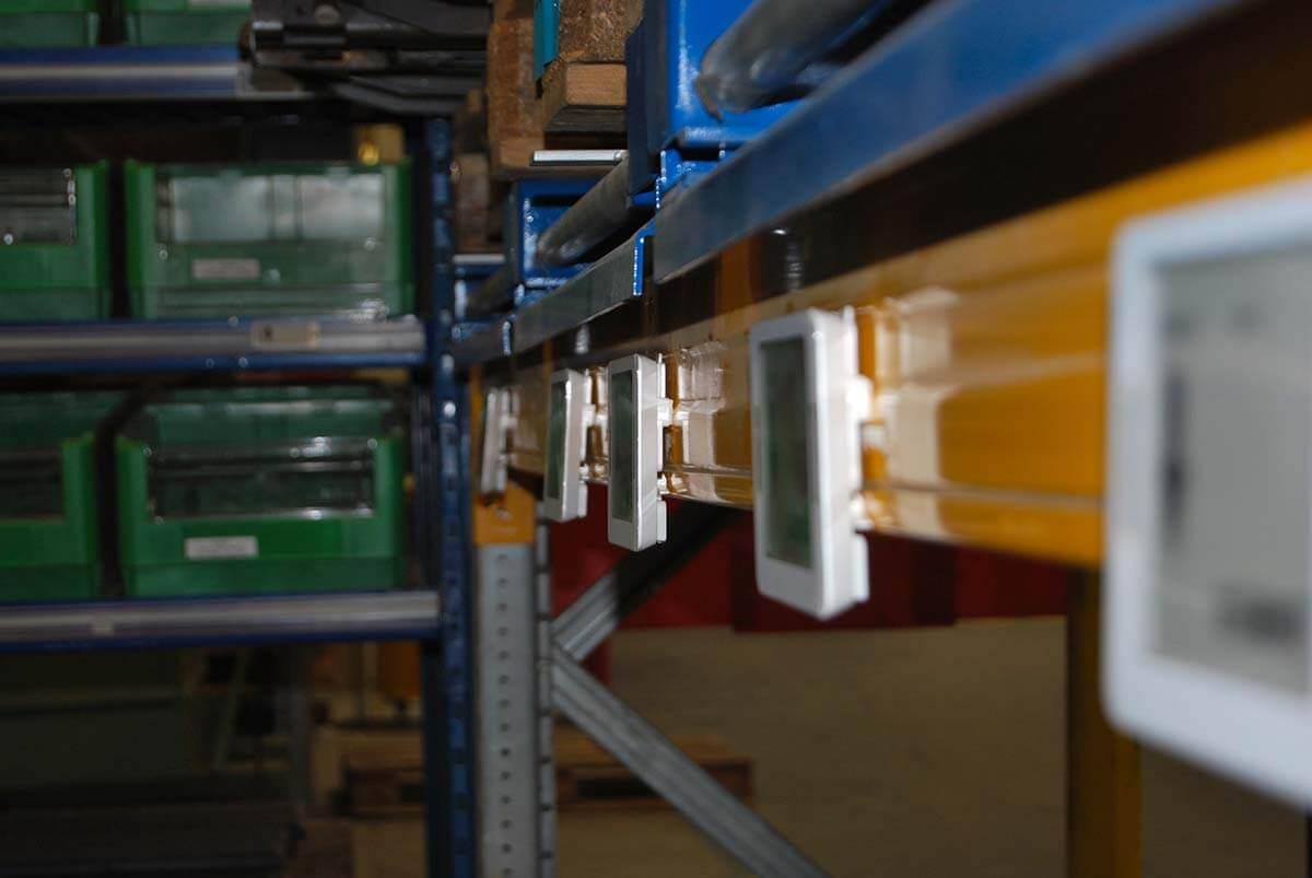 case study kitting dinamico con sistema ESL Pick/Put To Light ESL aree assemblaggio e produzione
