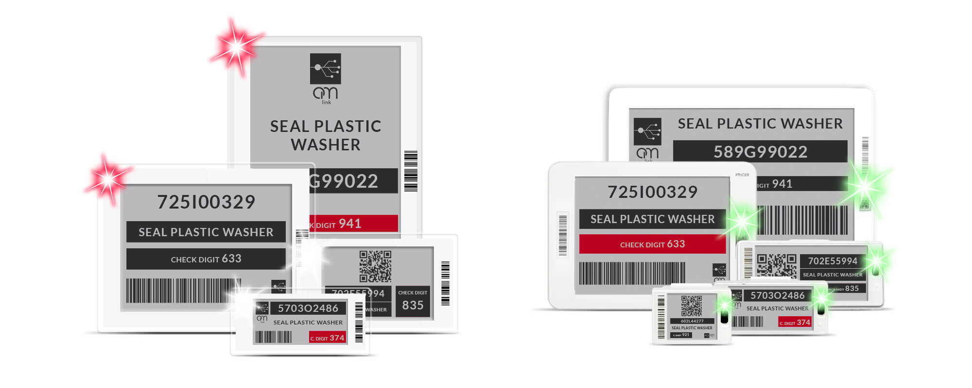 Etichette elettroniche pricer findbox