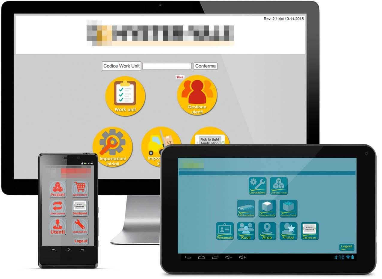 personalizzazione del software gestionale delle etichette elettroniche
