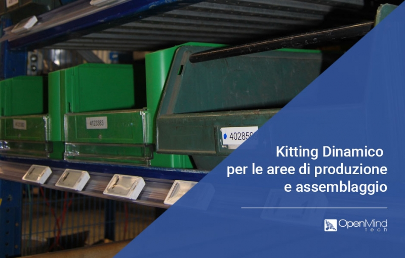 case study kitting dinamico con sistema Pick/Put To Light