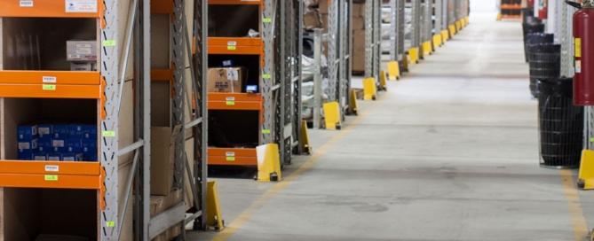 ventilazione o sorting per la logistica di magazzino