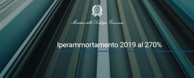 piano nazionale iperammortamento 2019