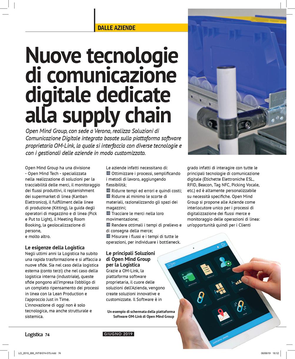 Articolo Magazine Logistica Pag.74