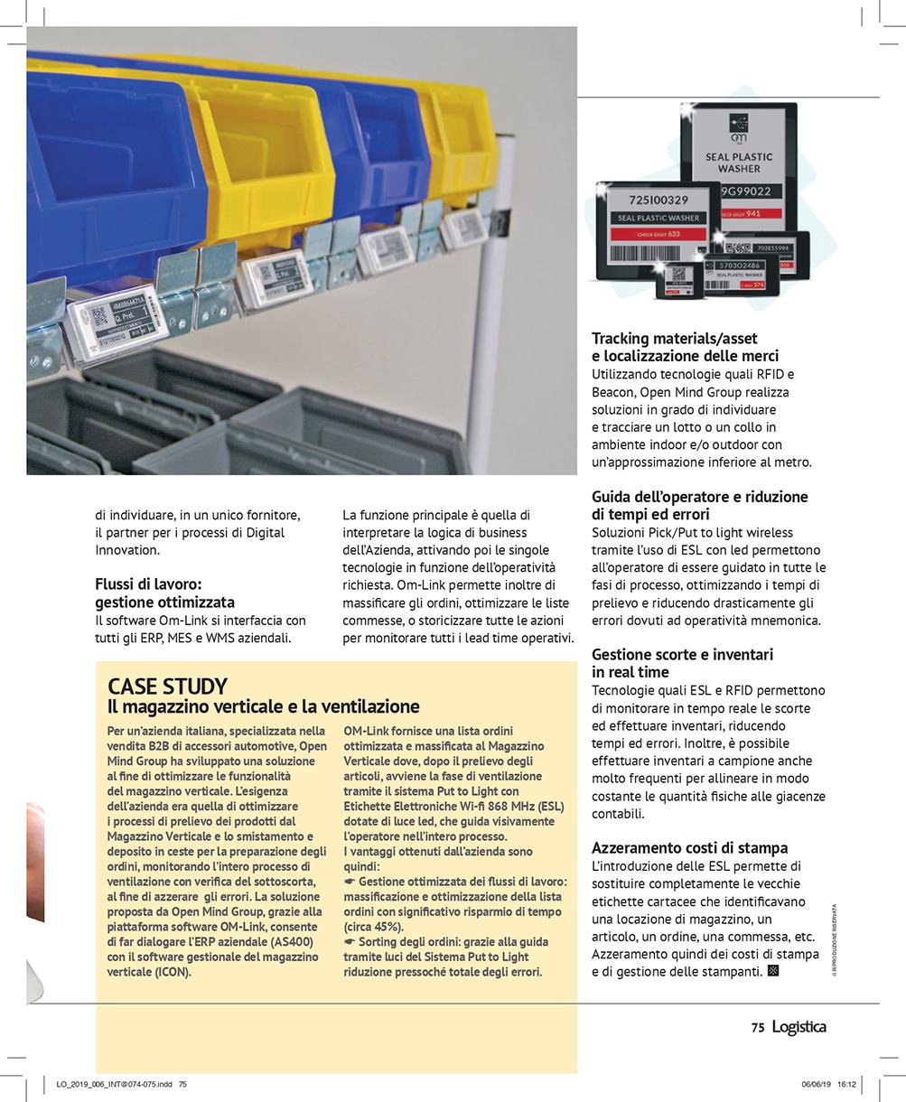 Articolo Magazine Logistica Pag.75