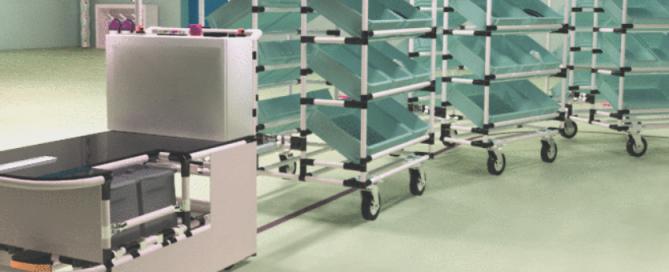 AGV kitting cart