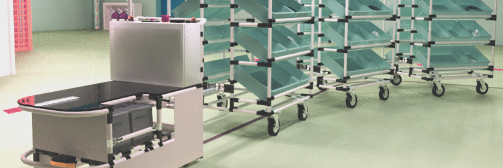 AGV kitting cart