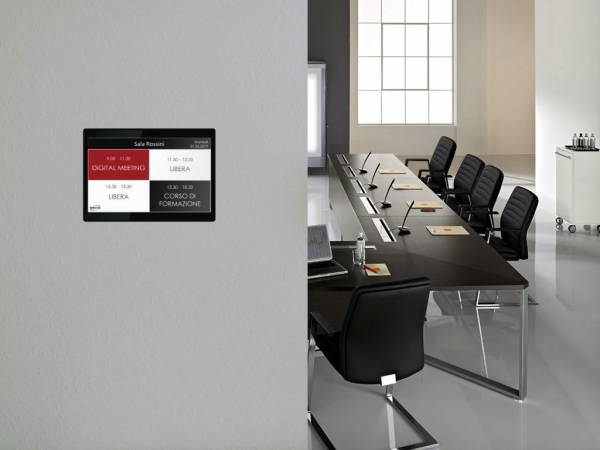 Sala riunioni sistema digitale