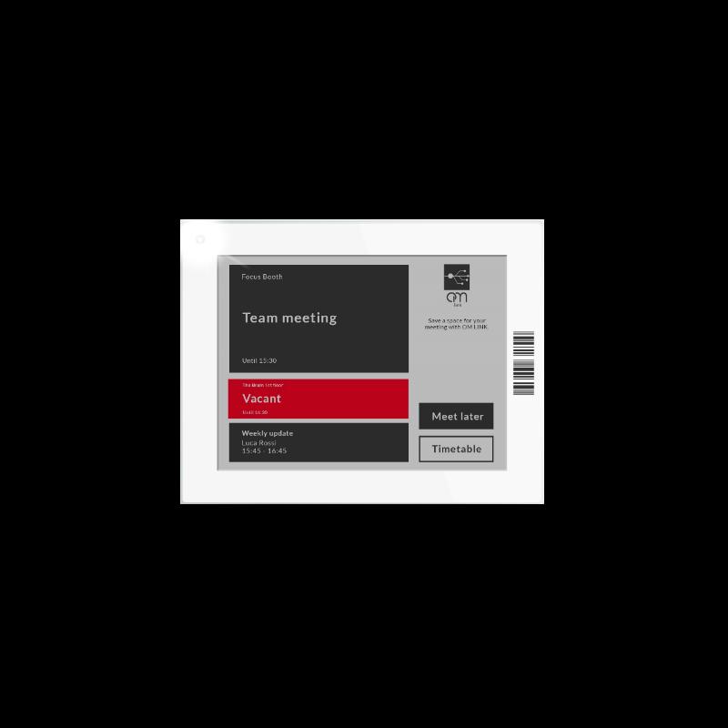 Etichetta Elettronica Wi-Fi formato 4,2″ per meeting room