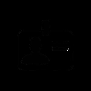Badge Elettronico Icon