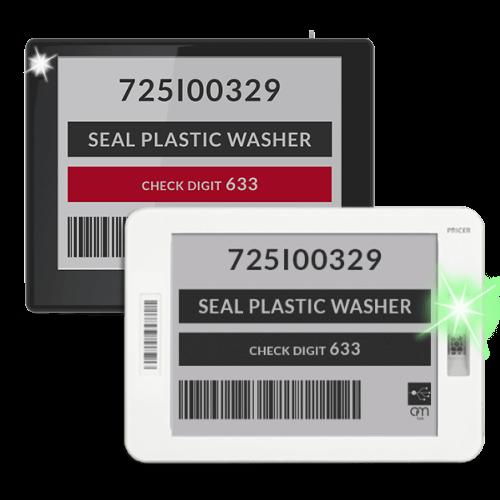etichetta elettronica wi-fi per uso industriale