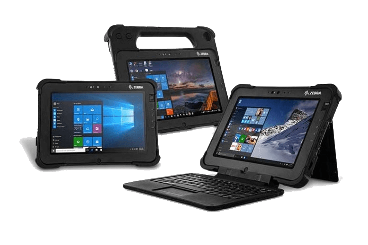 tablet rugged uso industriale